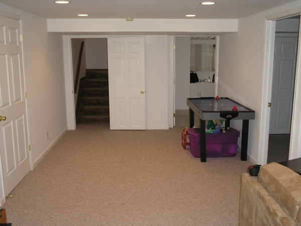 Basement Renovation Wixom MI