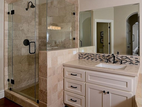 Bathroom Remodeling SE Michigan - Luxury Bath Renovation Huntington Woods - backsplash-7d3baa2